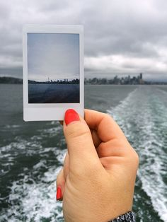 Ferried away from here. Travel memories and Instax go hand in hand. #instax