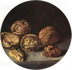 Antonio de Pereda, Still Life with Walnuts, 1635