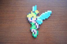 Tinker Bell perler beads by giojpn on deviantART