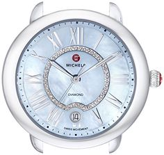 Women's Wrist Watches - MICHELE Womens MW21B00A0063 Serein SilverTone Watch Head * Find out more about the great product at the image link. (This is an Amazon affiliate link)