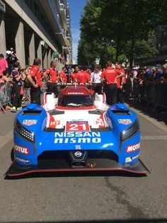 Nissan GT-R LM NISMO at the 24 Hours of Le Mans