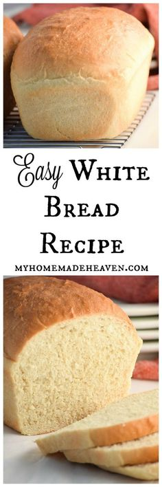 White Bread Soft and basic! Love this recipe! It's become our new go-to bread! Love that it only uses the most simple ingredients!Soft and basic! Love this recipe! It's become our new go-to bread! Love that it only uses the most simple ingredients! Loaf Recipes, Easy Bread Recipes, Baking Recipes, White Bread Recipes, Simple Recipes, Bread Flour Recipes, Easy Bread Machine Recipes, Pasta Recipes, Snack Recipes