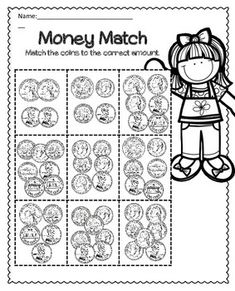 hairy money worksheet fun learining activities money worksheets worksheets money. Black Bedroom Furniture Sets. Home Design Ideas