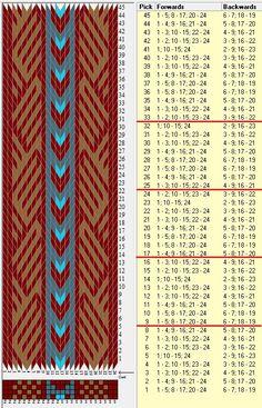 24 tarjetas, 4 colores, repite cada 8 movimientos // sed_563 diseñado en GTT༺❁