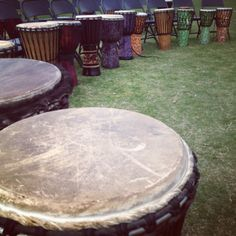 Drumming circles can be therapeutic - they can be used to communicate and enhance listening skills.  They can be a metaphor for asserting oneself, etc.