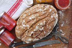 Glutenfree levain bread made with wild yeast starter