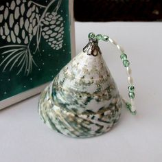 Seashell Ornament Trochus Sea Shell for Coastal by CoastalGlamour