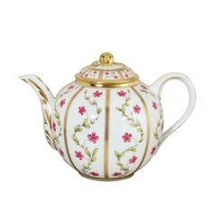 """Bernardaud Limoges """"Roseraie"""" Teapot"""