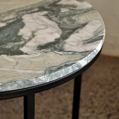 Brooklyn table by Design Kiosk Green Marble, Black Marble, Marble Top, Marble Furniture, Modern Furniture, Furniture Design, Corporate Interiors, Kiosk, Minimal Design