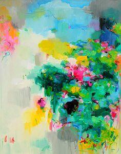 Vibrant Art | ZsaZsa Bellagio - Like No Other-Playful Abstract Paintings por Yang Yang