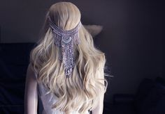 Hey, I found this really awesome Etsy listing at https://www.etsy.com/listing/483014025/bride-hair-boho-hair-piece-chain-hair