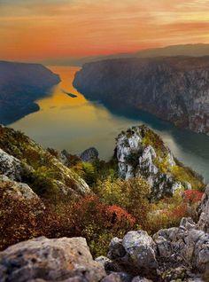 The Iron Gates - Danube River Serbia