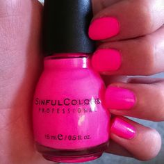 love the nail polish color-so cute!