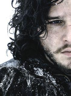 Kit Harington: Game of Thrones - Jon Snow Kit Harington, Jon Snow, Winter Is Here, Winter Is Coming, Fernanda Young, Beautiful Men, Beautiful People, Hello Beautiful, Cinema Tv