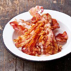 Crisp bacon in oven