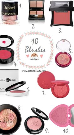 10 #blush #crueltyfree Best Foundation For Oily Skin, Best Drugstore Foundation, Foundation Dupes, Drugstore Makeup Dupes, Latest Makeup Trends, Blushes, Vegan Beauty, Leis, Makeup Kit