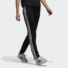 best service 52a8e 99bbe adidas SST Track Pants - Black   adidas US