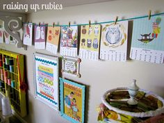 Raising up Rubies: a cute place to make stuff ♥   Love the ric rac on the frame