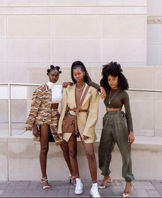 Black Women Fashion, Look Fashion, Fashion Outfits, Black Women Style, Black Girl Style, Black Girl Swag, 80s Fashion, Winter Fashion, Womens Fashion