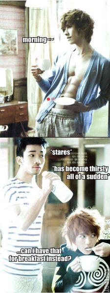 Can I have Lee Joon for breakfast? :D hahahaha #kpop #mblaq Lee Joon