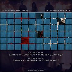 """56 dias para Batman vs Superman: A Origem da Justiça // 57 days until #BatmanvSuperman!  #TeamSuperman #BvS #HenryCavill #superman #aorigemdajustiça…"""