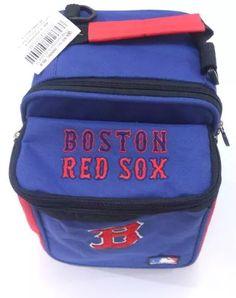 bolso lonchera vianda mlb grandes ligas medias rojas boston