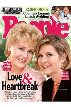 Hollywood legends Debbie Reynolds and Carrie Fisher shared an undeniable bond their whole lives.  Subscribe now for an inside look at Hollywood's legendary mother-daughter duo – only in PEOPLE.  Carrie Fisher's autopsy results have been placed on a security hold.
