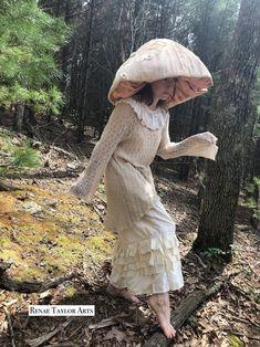 Mardi Gras Costumes, Halloween Costumes For Kids, Mushroom Costume, Comic Con Costumes, Stuffed Mushroom Caps, Costume Makeup, Costume Design, Dress Up, Cute Outfits