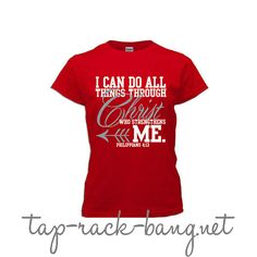 I Can Do All Things Through Christ  Camel by TapRackBangNet, $20.00