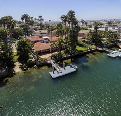 Gracious Newport Island bayfront estate home situated on three of the island's finest lots.