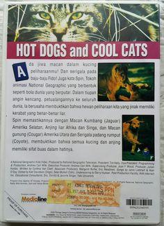 VCD film pengetahuan Hot Dogs and Cool Cats dengan kondisi sangat bagus (85 - 95%) hanya Rp 10.000 di Prelo. | Original dari Indonesia. Kondisi bagus disc mulus, sesuai foto. Beli = Terima kondisi barang, no retur.