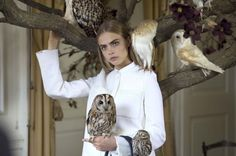 Go behind the scenes on Cara Delevingne's shoot for Mulberry.