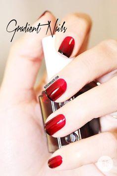 gradient nails