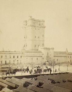 Donjon de Vincennes, juin 1865, tiré en 1866 | Photographe : Ildefonse Rousset