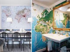 DIY HOME: WORLD MAPS
