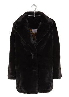 LADY BUG Manteau avec Capuche Fourrure synth/étique Fille