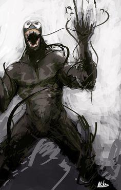 Venom by Niking.deviantart.com on @deviantART
