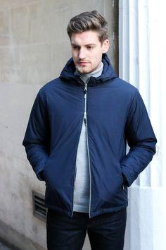 Folk double zip jacket.