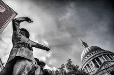photo of the #Firefighters Memoriel near #St_Paul in #London.  #500px, June 2012