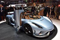 Koenigsegg Regera, Motor: V8-Biturbo + 3 E-Motoren, Hubraum: 5,0 Liter (Verbrenner), Leistung: über 1.500 PS