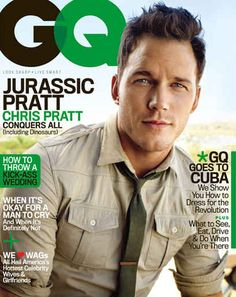 Beautiful babe Chris Pratt is gracing the cover of GQ's June issue, and as part of their cover shoot, Pratt got drunk on whiskey and decided to host a little Acting 101 class.