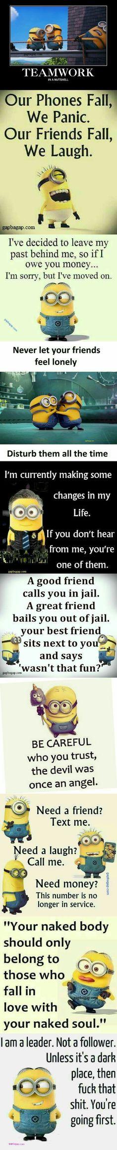 Top 10 Funniest Minion Memes About Friends