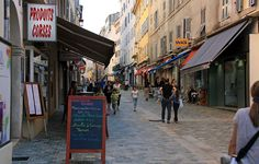 Einkaufsmeile Bastia