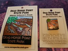 Dead Horse Point State Park Pin and Patch
