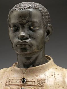People of Color in European Art History — Anonymous Venetian Artist Bust of a Black Youth. - People of Color in European Art History — Anonymous Venetian Artist Bust of a Black Youth… - Goldscheider, African History, African Art, African Culture, European History, Art History, Black History Facts, African Diaspora, Arte Popular