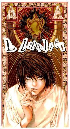 DeathNote: L Lawliet I love original Obata artwork! _K