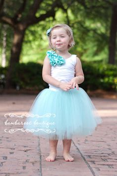 OOOOO I hope Baby Pippin is a girl!!!     Flower Girl Dress Flower Girl Dresses Tutu by BambaroosBoutique