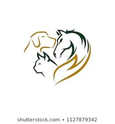 Find Animal Pet Logo Designs stock images in HD and millions of other royalty-free stock photos, illustrations and vectors in the Shutterstock collection. Thousands of new, high-quality pictures added every day. Pet Logo, Ancient Symbols, Animal Logo, Pet Shop, Animals And Pets, Line Art, Dog Tags, Fotos Ideas, Pet Vet