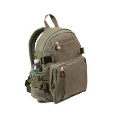 Rothco Vintage Canvas Mini Backpack