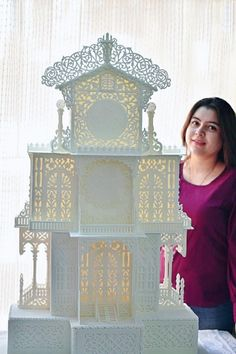 3.7 feet Royal Icing Structure by Prachi Dhabaldeb